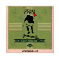 JUCKER HAWAII Sticker Kickflip