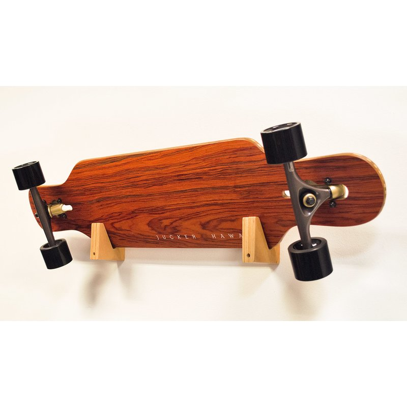 jucker hawaii longboard skateboard rack set wood block. Black Bedroom Furniture Sets. Home Design Ideas